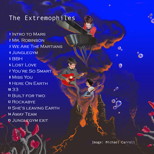 Extremophiles cd cover